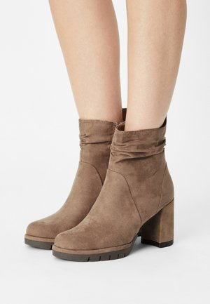 Classic ankle boots - antelope