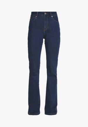 TARA WASH - Flared Jeans - denim blue