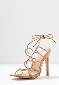 Public Desire - SAVY - High heeled sandals - nude - 4