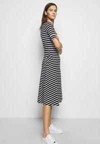 Lauren Ralph Lauren - Jersey dress - black/white - 3