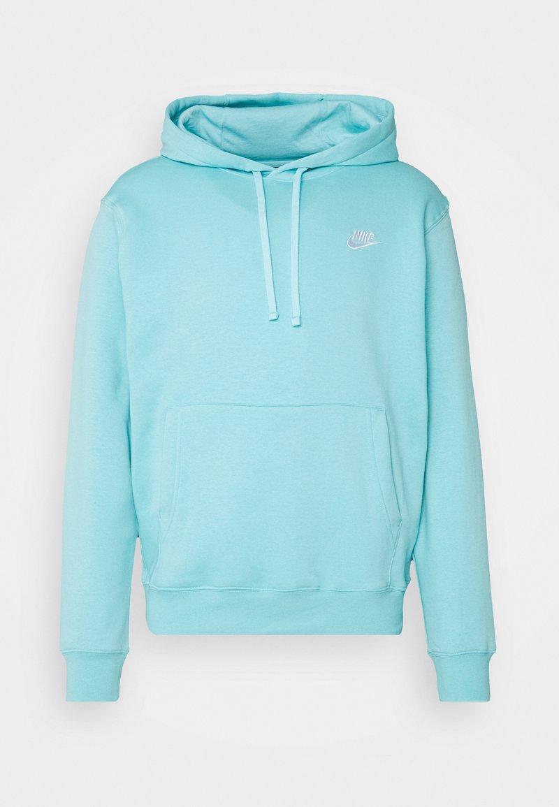 Nike Sportswear - CLUB HOODIE - Hættetrøjer - bleached aqua/white