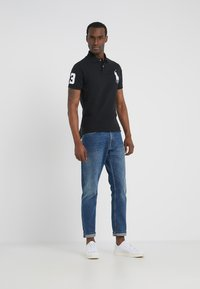 Polo Ralph Lauren - BASIC SLIM FIT - Polo shirt - black - 1