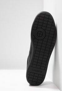 Lacoste - CARNABY EVO - Zapatillas - black - 4
