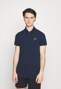Hollister Co. - 3 PACK - Polo shirt - white/navy/black - 4