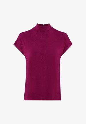 Basic T-shirt - cassis
