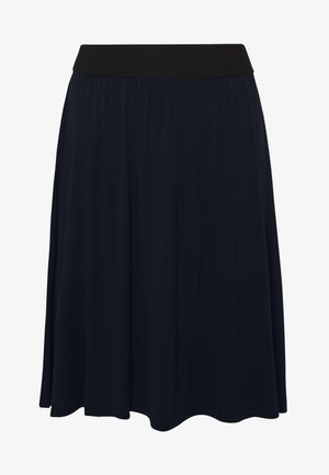 KAWILLE  - A-line skirt - midnight marine