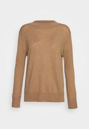 MOCKNECK  - Sweter - dark beige