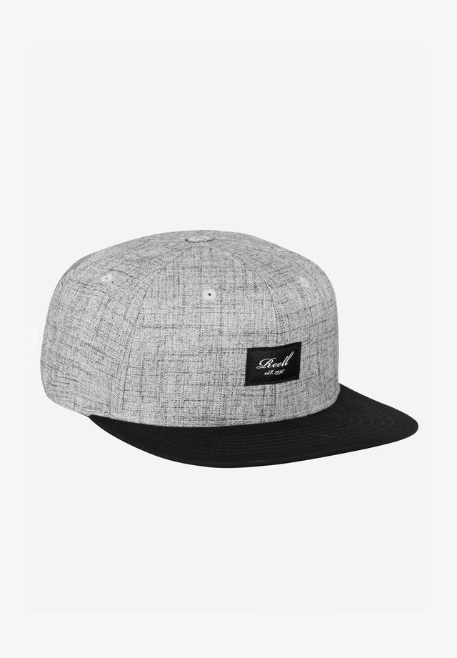 PITCHOUT - Cap - heather grey / washed black