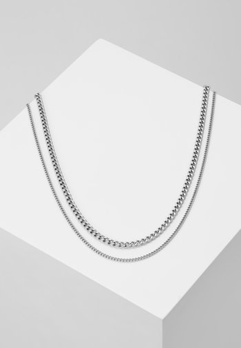 MODULE NECKLACE - Necklace - silver-coloured