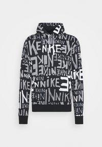 Nike Sportswear - Felpa con cappuccio - black/white - 0
