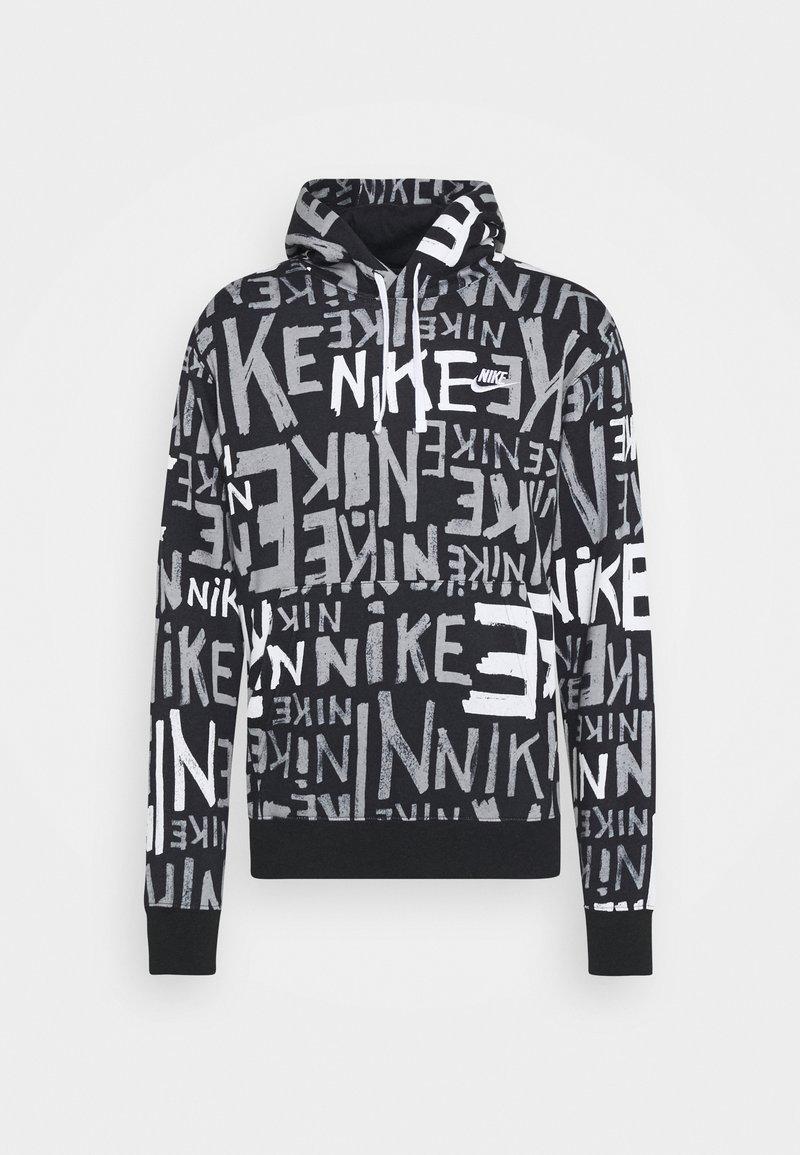 Nike Sportswear - Jersey con capucha - black/white