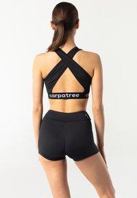carpatree - CROSSBACK - Reggiseno sportivo - black - 2