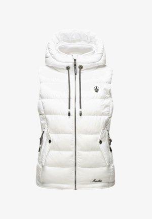 TAISAA - Waistcoat - white