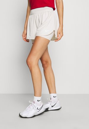 DRY SHORT - Sports shorts - light orewood/white