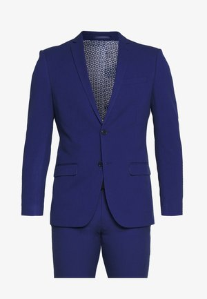 BRIGHT BLUE SLIM SUIT - Suit - blue
