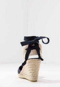 ALOHAS - CLARA BY DAY - High heeled sandals - navy - 5