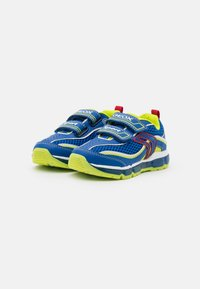 Geox - BOY - Trainers - royal/lime - 1