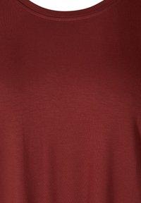 Zizzi - Basic T-shirt - red - 3
