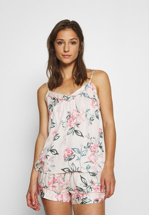 WATERCOLOUR IRIS - Pyjama top - bridal blush