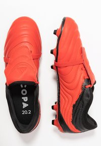 adidas Performance - COPA GLORO 20.2 FG - Moulded stud football boots - active red/footwear white/core black - 1