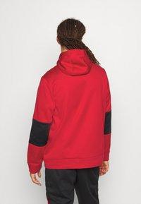 Jordan - AIR THERMA FULL ZIP - Forro polar - gym red/black - 2