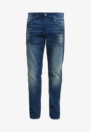 3301 STRAIGHT FIT - Straight leg jeans - joane stretch denim - worker blue faded