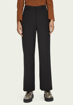 TAILORED SLIM FIT - Trousers - black