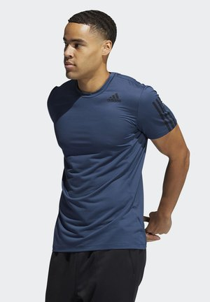 AERO3S DESIGNED4TRAINING PRIMEBLUE - T-shirt imprimé - blue
