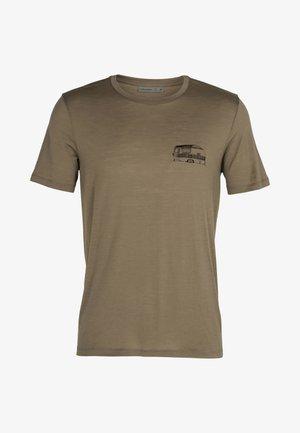 T-shirt imprimé - flint