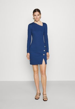 DRESS - Jersey dress - parade blue