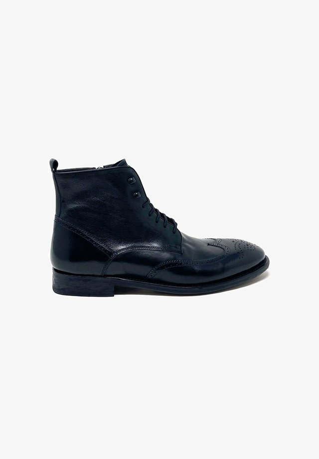 TODI - Lace-up ankle boots - black