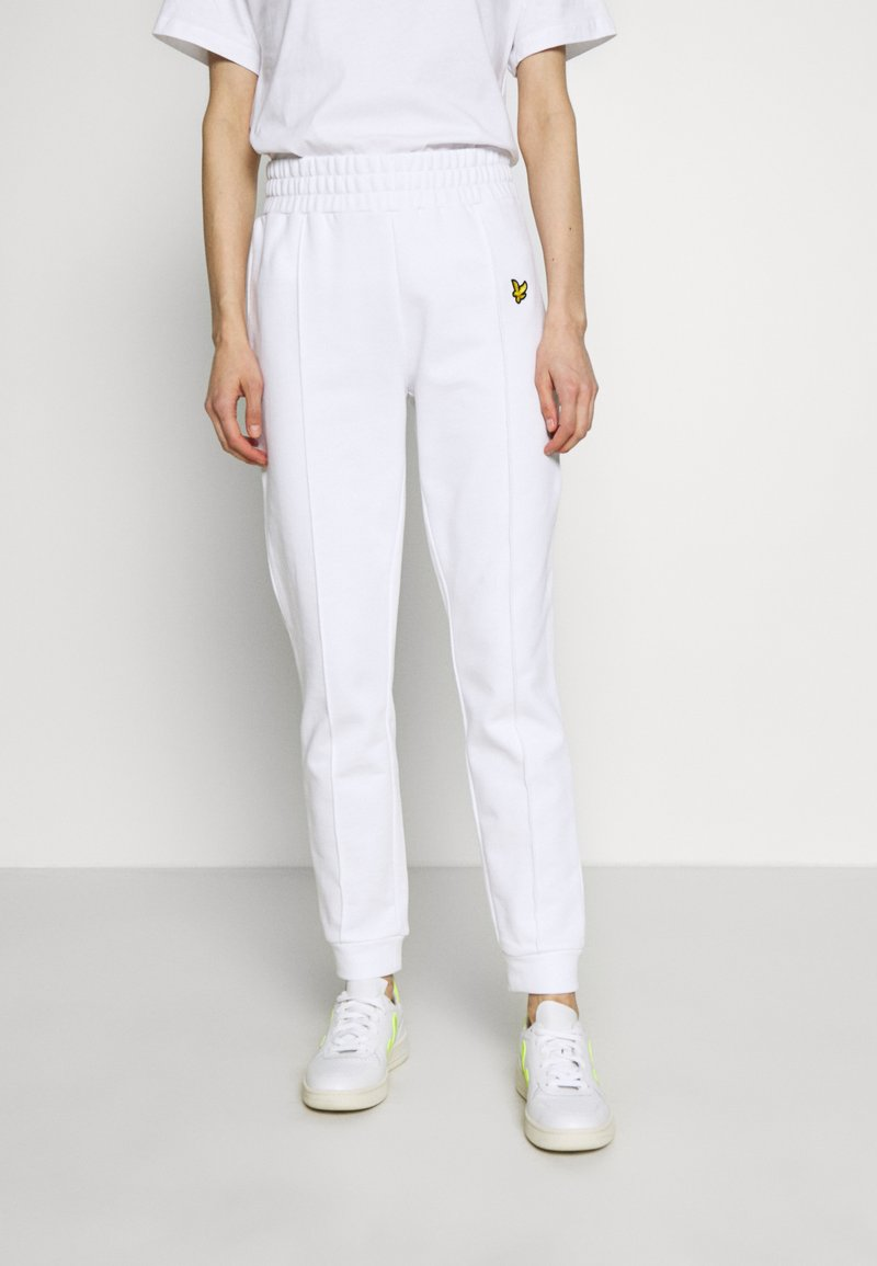 Lyle & Scott - Tracksuit bottoms - white