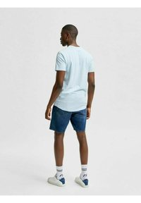 Selected Homme - T-shirt - bas - light blue melange - 2