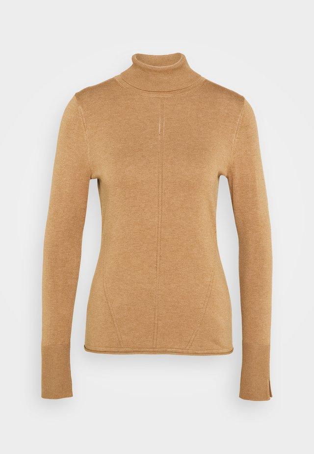 Pullover - camel melange