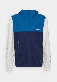 AKELLO LOOSE HALF ZIP JACKET - Training jacket - blue sapphire