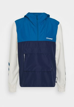 AKELLO LOOSE HALF ZIP JACKET - Training jacket - blue sapphire