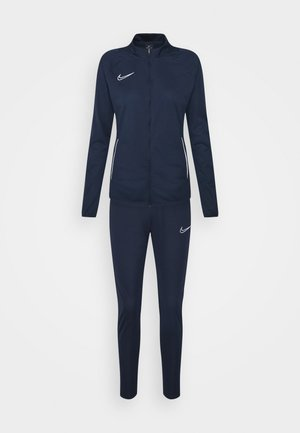 ACADEMY SUIT - Tracksuit - obsidian/white