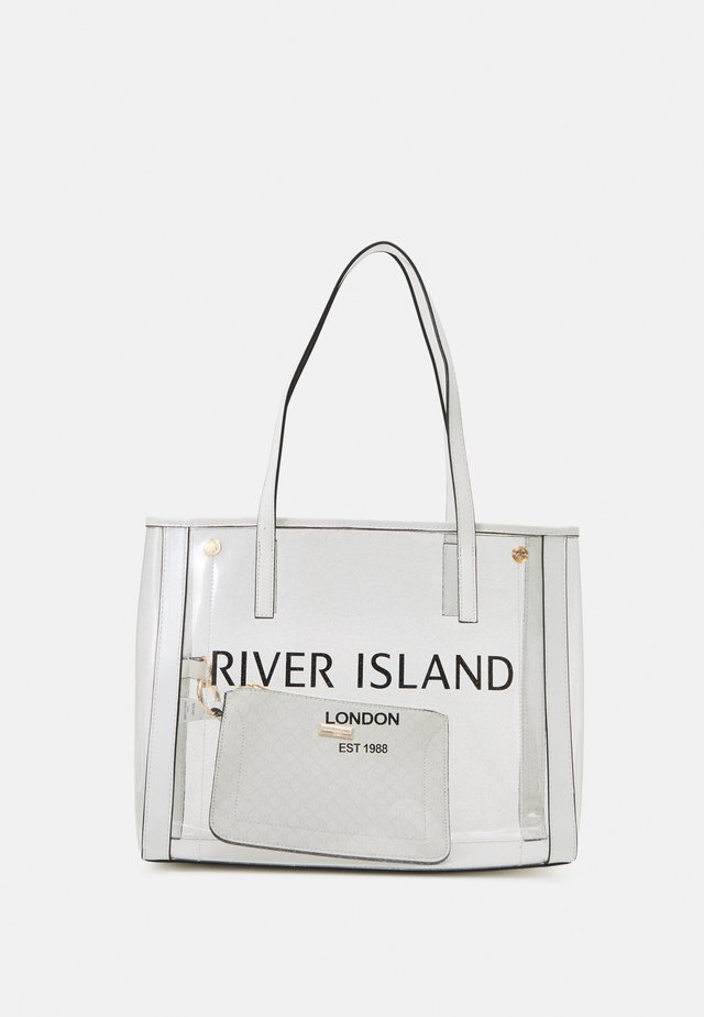 SET - Shopping bag - white