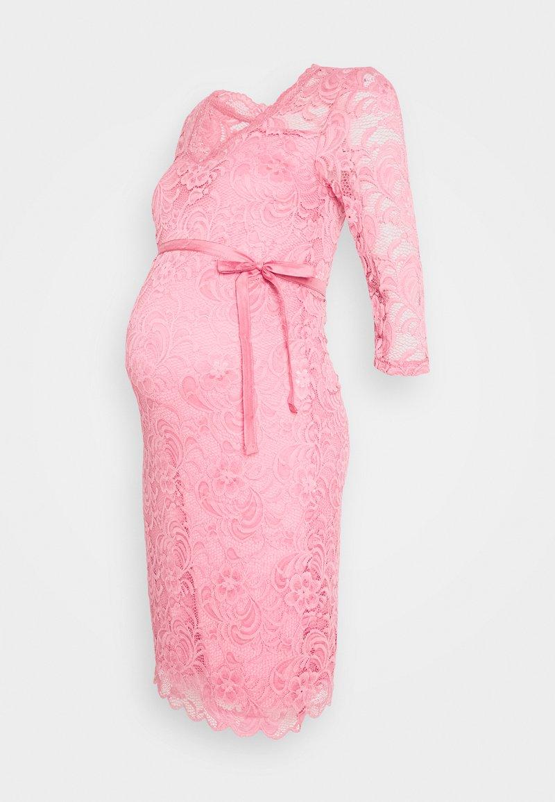 MAMALICIOUS - MLMIVANA 3/4 DRESS - Day dress - cashmere rose