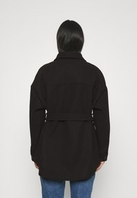Nly by Nelly - MY DEAREST SHACKET - Short coat - black - 2