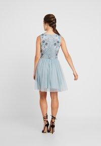 Lace & Beads Petite - NARA SKATER - Koktejlové šaty/ šaty na párty - teal - 2