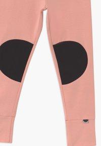 Papu - PATCH UNISEX - Legíny - dusty pink/black - 3