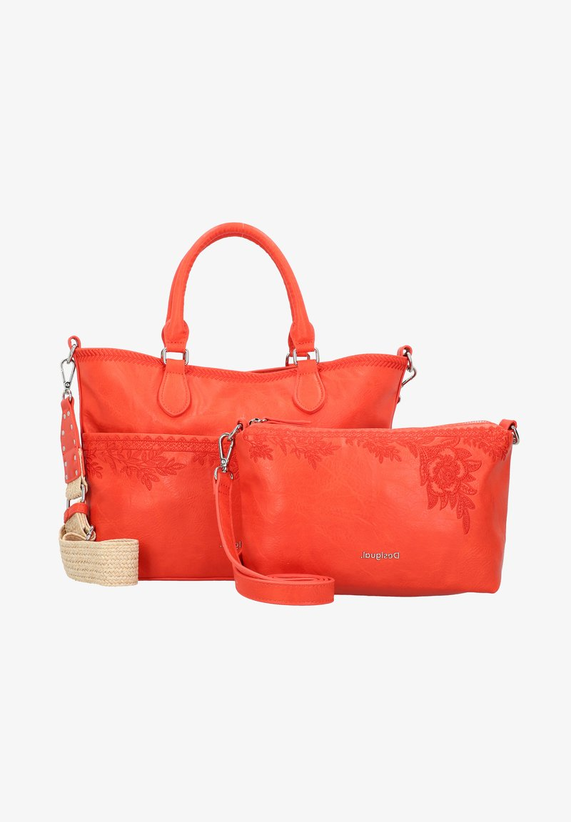Desigual - LYRICS HOLLYWOOD  - Handbag - coral