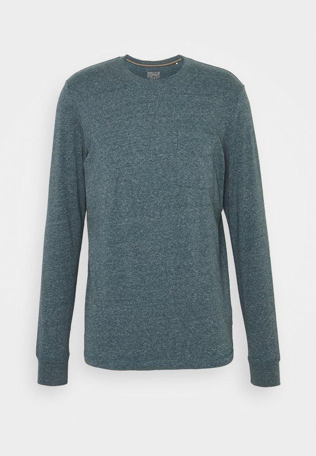 Maglietta a manica lunga - grey blue 5