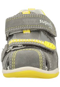 Superfit - Baby shoes - grey/yellow - 5