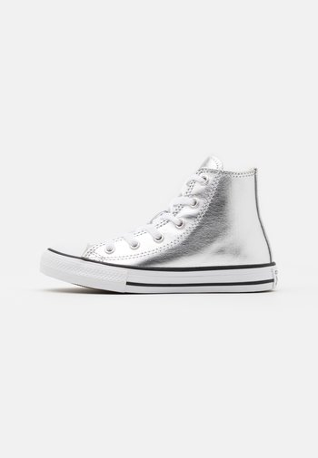 CHUCK TAYLOR ALL STAR - High-top trainers - metallic granite/white/black