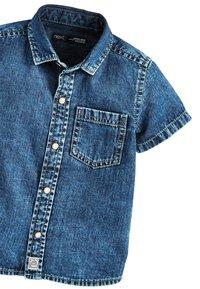 Next - BLUE SHORT SLEEVE DENIM SHIRT (3MTHS-7YRS) - Camisa - blue - 2