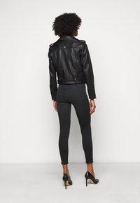 LIU JO - CHIODO - Leather jacket - nero - 2