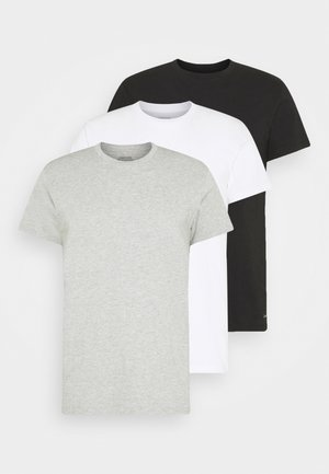 CLASSICS CREW NECK 3 PACK - Unterhemd/-shirt - grey