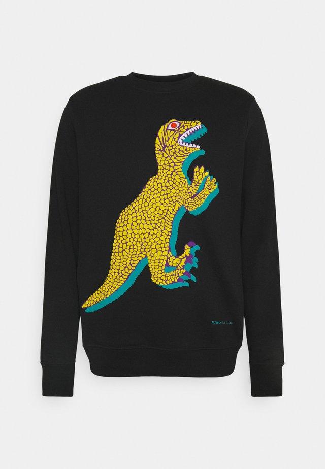 BIG DINO - Sweatshirt - black